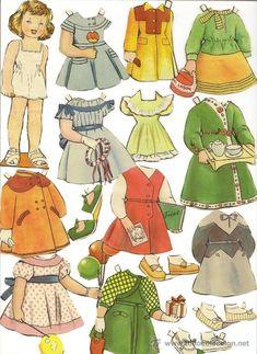 a1ce7781e0 Las 18 mejores imágenes de Plantilla para muñeca de papel