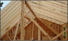 2x rafter is the 2nd least expensive roof but limlited head room, you then see the shead dormer here with a window in the roof