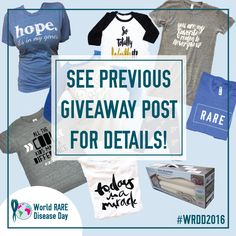 In honor of #WorldRareDiseaseDay on 2/29, we are participating in a #LoopGiveaway with other amazing shops that help to spread #awareness, fund #research, and/or #support families affected by #RARE disease. There will be 10 lucky #winners! The #giveaway ends on 2/29! See our previous post (below) about the #LoopGiveaway for details on how to win! #WRDD2016 Enter at: http://instagram.com/bitzybabyofficial