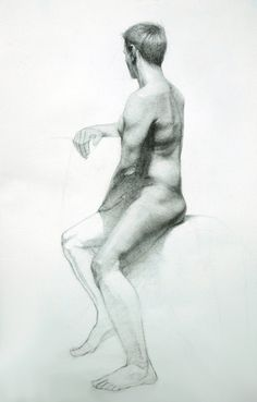 male figure - Drawing