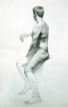 male figure - Drawing