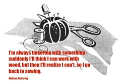 Do famous people ever talk about sewing? Read Famous Quotes about Sewing and Quilting right here. Quilting Quotes, Clever Quotes, Sewing Patterns For Kids, Sewing Rooms, Famous Quotes, Quilts, Fabric, Storage, Craft