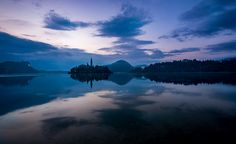 Another from my sunrise shoot at the dreamy Lake Bled in Slovenia. One of the most breathtaking sights I have ever seen.  Best viewed on Black.  Thanks for the likes, Favs, and comments.