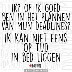 Hahahaha... Deadlines... #darum #deadlines