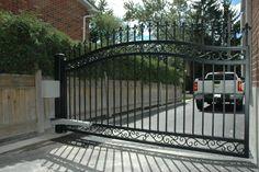 Single 10ft leaf driveway gate