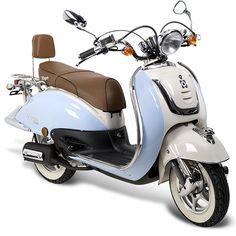 blue retro scooter - Google zoeken