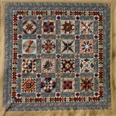 My favorite quilt - a bed quilt. Hand pieced, machine quilted.