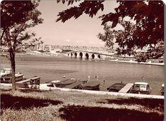 Büyük Çekmece Köprüsü, yıl 1970'li yıllar ve Büyük Çekmece'nin Çatalca ilçesine bağlı bir bucak merkezi olduğu zamanlar.