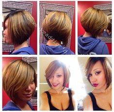 Full sew-in bob with lace closure Sew In Bob Hairstyles, Quick Weave Hairstyles, My Hairstyle, Relaxed Hairstyles, Quick Weave Bob, Bob Weave, Bob Sew In, Short Bob Styles, Hair Dos
