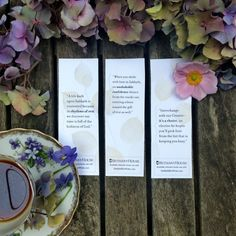 Free downloadable bookmarks when you purchase Rhythms of Rest