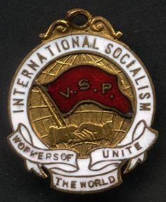 Victorian Socialist Party from pre-1910. John Curtin was an early member. Founded by Tom Mann