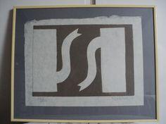 klaas gubbels, kannen geschept papier 31x41 cm Hand gesigneerd met potlood oplage: 200