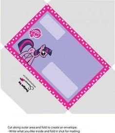 Printable My Little Pony Envelope