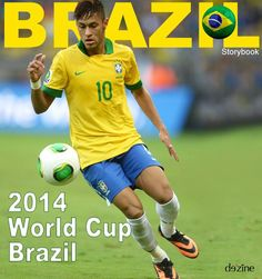 The World Cup is quickly approaching! Brush up on your Brazil soccer knowledge inside this Destination storybook at http://www.dezine.com/storybook/brazilian-soccer/ #brazilsoccer