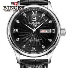 Genuine BINGER Swiss watch men luxury automatic mechanical  $182.00 ≧✯