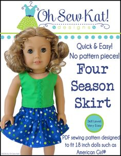 Mix and Match 18 inch doll fashions – Oh Sew Kat!