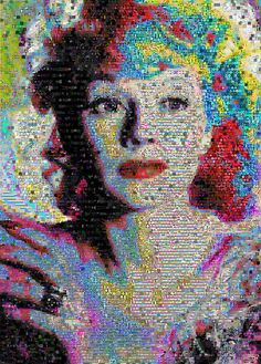 Lucille Ball Collage, John Lijo Bluefish