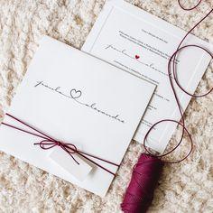 Convite com Digitais - Convites de Casamento