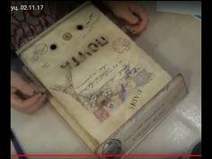 Юлия Штуц. Винтажный почтовый ящик. 02.11.17 - YouTube