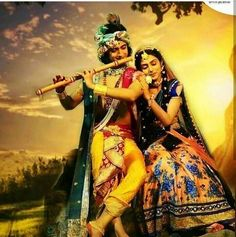 Image may contain: 2 people, outdoor Radha Krishna Holi, Radha Krishna Love Quotes, Cute Krishna, Radha Krishna Pictures, Krishna Photos, Shree Krishna, Krishna Art, Radhe Krishna Wallpapers, Lord Krishna Wallpapers