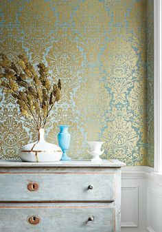 Kingsbury Damask from Natural Resource 2 Collection