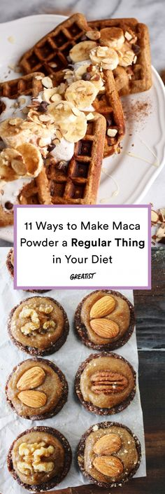 Shake your maca maker. #greatist https://greatist.com/eat/maca-powder-recipes