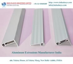 Aluminum extrusion brings all the physical characteristics of aluminum. The softness of aluminum allows in cast and you can easily machine the product. You will get 1/3rd stiffness and density of steel and it will result in stability and strength of the finished products. Aluminum Extrusions Manufacturer India deals with the automotive industry, but you also find the extrusion products in aerospace high-tech components.