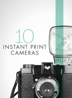 10 instant print cameras you need to check out.