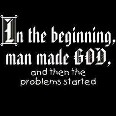 In the beginning. #atheist