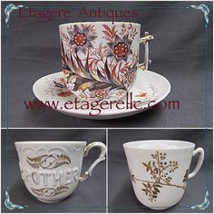 A gift for those with mustaches!  #vintage #mustache #cup #mug #collectible #gift #shoponline #shopvintage #gotvintage #etagereantiques #porcelain