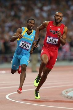 The Hosting of Track and Field Competitions in The Bahamas Us Olympics, Summer Olympics, 4 X 400m, Olympic Track And Field, Sports Track, Vs The World, Usain Bolt, Sport 2, Cycling Shorts