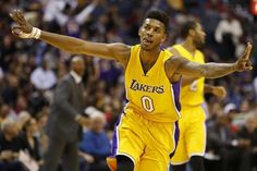 1-on-1 Weekly: D'Angelo Russell vs. Nick Young - Once the Los Angeles Lakers drafted D'Angelo Russell, Twitter exploded with a faux report stating that the rookie, who wore No. 0 at Ohio State, would have to play Nick Young for the number.....