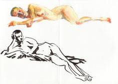 Life Drawing at the Botanics, Glasgow What a great model! Life Drawing, Sketchbooks, Glasgow, My Drawings, Painting, Art, Art Background, Sketch Books, Painting Art