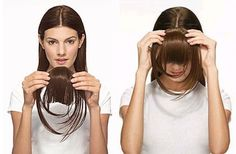 Love Clip In Bangs. Easy, Fast and Natural. Hairispower.com 619-301-5946