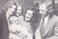 Robin with son, Spencer, Molly and Robert Stigwood