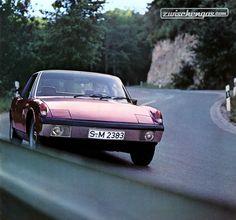 Volksporsche - der Sportwagen fürs Volk von 1971  © Zwischengas Archiv #VWPorsche #914 #1971