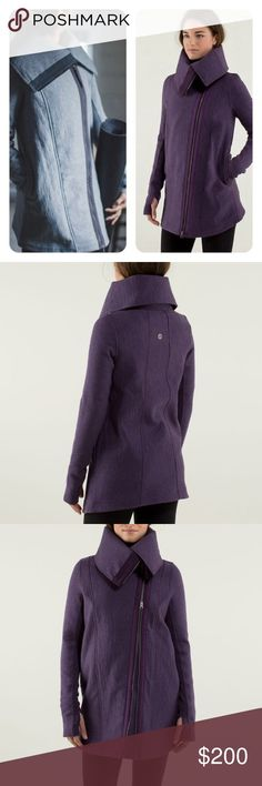 New Lululemon Virasana blanket coat size 12 This coat is amazing!  I tried it on so many ones but it is just too big for me, never worn out, in mint condition, size 12 lululemon athletica Jackets & Coats