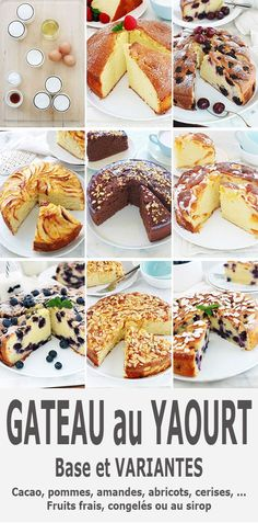 Discover recipes, home ideas, style inspiration and other ideas to try. Yogurt Dessert, Yogurt Breakfast, Yogurt Cake, Breakfast Recipes, Waffle Recipes, Easy Cake Recipes, Gentilly Cake Recipe, Mini Cheesecake Recipes, Greek Yogurt Recipes