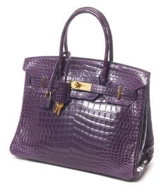 Hermes Paris Birkin | HERMES Paris made in france. Magnifique sac Birkin 30 cm en crocodile ...