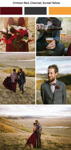 7 Fall Wedding Color Palette Ideas
