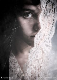 Kind of eerie #photography #lace