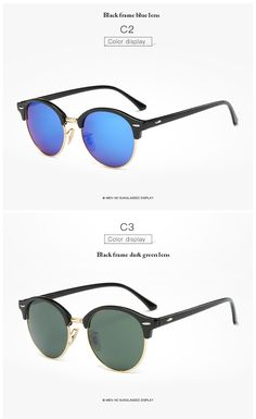 cae51aa13fbd8f Hot Rays Sunglasses Women Popular Brand Designer Retro men Summer Style Sun  Glasses Rivet Frame Colorful