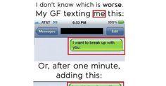 16 Hilarious Breakup Texts