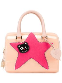 FURLA 'Candy DJ' tote. #furla #bags #leather #hand bags #pvc #polyester #tote #