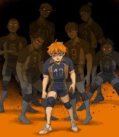 Manga Anime, Manga Haikyuu, Haikyuu Karasuno, Haikyuu Funny, Haikyuu Fanart, Fanarts Anime, Anime Guys, Anime Characters, Kagehina