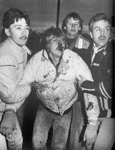 """Miner's strike 84/85 """"the most bitter industrial dispute in British history.""""[1]BBC"""