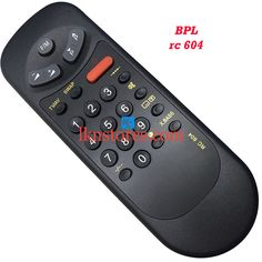 Buy remote suitable for BPL Tv Model: RC 604 at lowest price at LKNstores.com. Online's Prestigious buyers store.