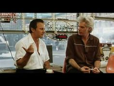 """""""Ja, we have ways of making you talk, Auggie."""" - Bob (Jim Jarmusch) in Wayne Wang's """"Blue In the Face"""""""