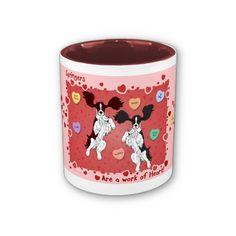 English Springer Spaniel Pink Mug Wrap