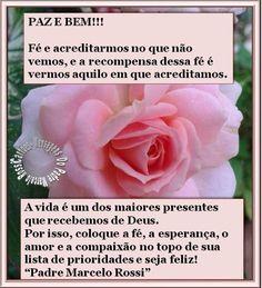 MENSAGENS DO PADRE MARCELO ROSSI - FRASES